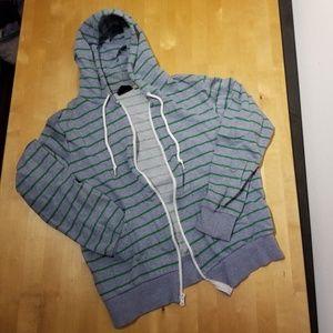 Unisex BDG strip hoodie